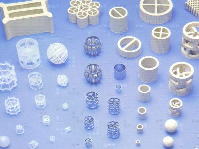 Random Packing in Plastics, Stainless Steel and Ceramics; Catalyst Supports and Reactor Insert Balls